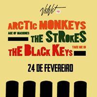 Shows cover The Black Keys  Strokes  Artic Monkeys Velvetpub