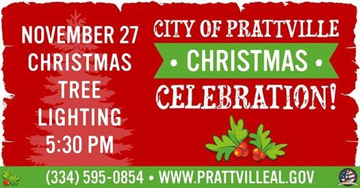 Annual Christmas Tree Lighting at City of Prattville