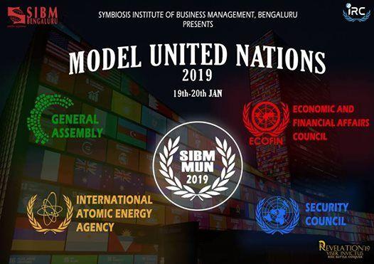 SIBM Bengaluru Model United Nations (MUN)  Revelation 2019