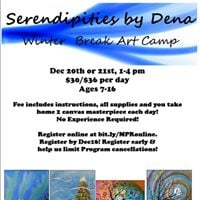 Serendipities by Dena Winter Break Art Camp