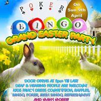 Poker &amp Bingo Grand Easter Party