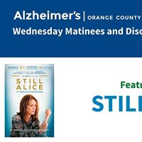 Wednesday Matinees &amp Discussions - Still Alice