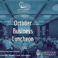 October Business Luncheon - Master planning for our future