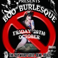 BOO Burlesque - An Evening of Burlesque &amp Cabaret
