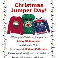 St Vincents Hospice Christmas Jumper Day