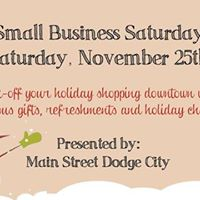 Small Business Saturday  Downtown Holiday Open House
