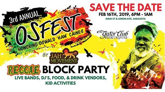 Free Reggae Block Party
