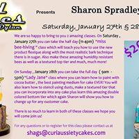 Sharon Spradley-International Cake Instructor Classes