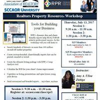 Realtors Property Resource Workshop