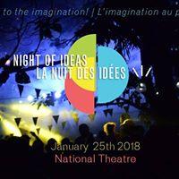 Night of Ideas  Nuit des ides