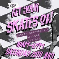 Get Your Skates On -FREE Roller Derby Taster