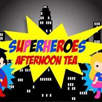 Superheroes Afternoon Tea
