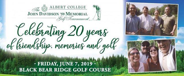 20th Anniversary John Davidson Golf Tournament
