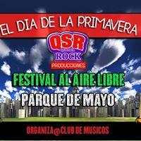 Dia De La Primavera En El Parque De Mayo Festival Al Aire Libre