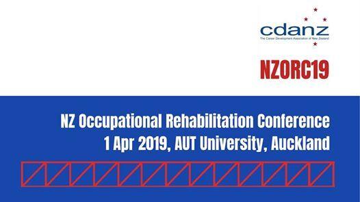 New Zealand Occupational Rehabilitation Conference 2019