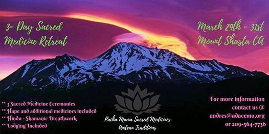 3-Day Sacred medicine retreat (Bufo-huasca and Psilohuasca)