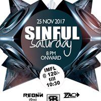 Sinful Saturday Ft. Reonn Rajbeer &amp Zack
