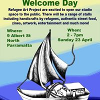 Refugee Art Project Welcome Day