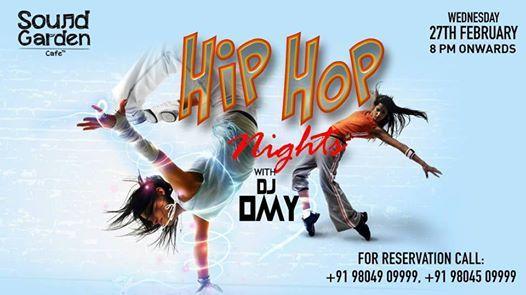Hip Hop Nights every Wednesday