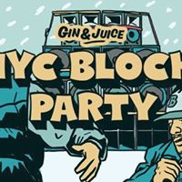 Gin &amp Juice End of Exams Block Party