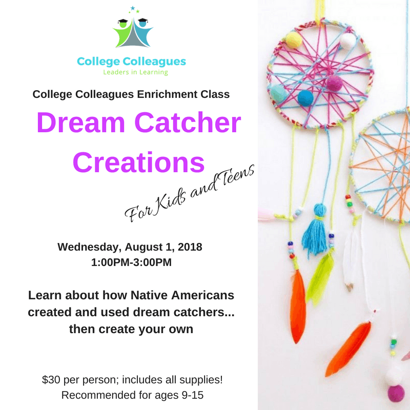 Dream Catcher Creations At College Colleagues Middleburg Heights Best All About Dream Catchers