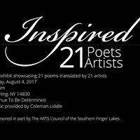 Inspired 21 Poets &amp Artist