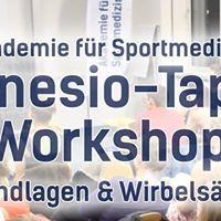 Kinesio-Tape Workshop - Grundlagen &amp Wirbelsule