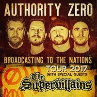 Authority Zero (Rhythm and Booze acoustic set) The Supervillians