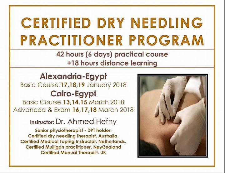 Certified Dry Needling Practitioner Program / Cairo- Egypt ...