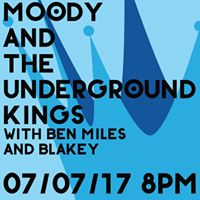 Christopher Moody &amp The Underground Kings  Pi Bar  8pm