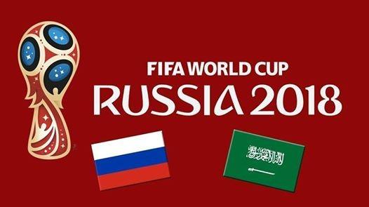 World Cup opening Game. Russia V Saudi Arabia