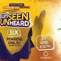 Unseen Unheard at Ouroboros