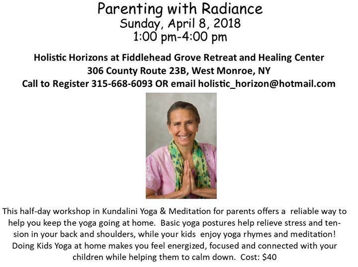 Parenting with Radiance and Svaroopa Sessions with Ajeet
