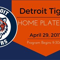 Tigers Home Plate with Markey Church