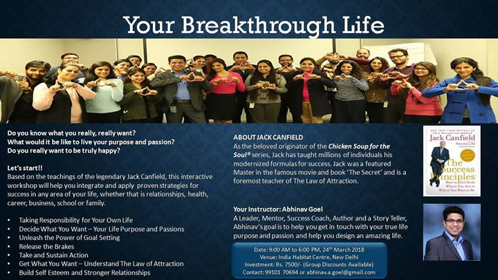 Your Breakthrough Life
