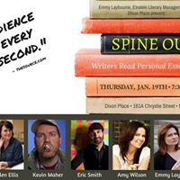 SPINE OUT Novelists read Personal Essays