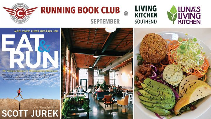 CRC Running Book Club September Eat & Run