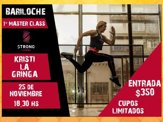 PRIMER MASTER CLASS STRONG BY ZUMBA