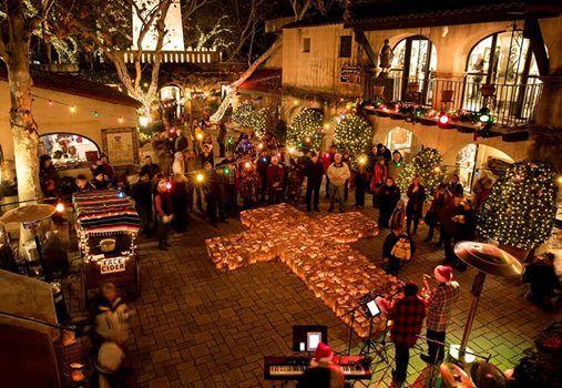 The Lighting of 6000 Luminarias - Festival of Lights