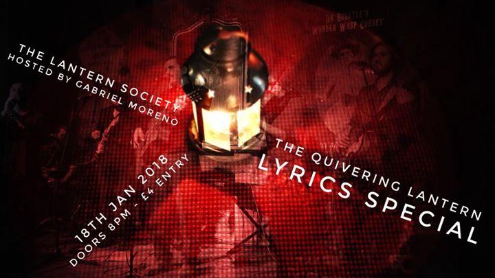 The Quivering Lantern - Lyrics Special-
