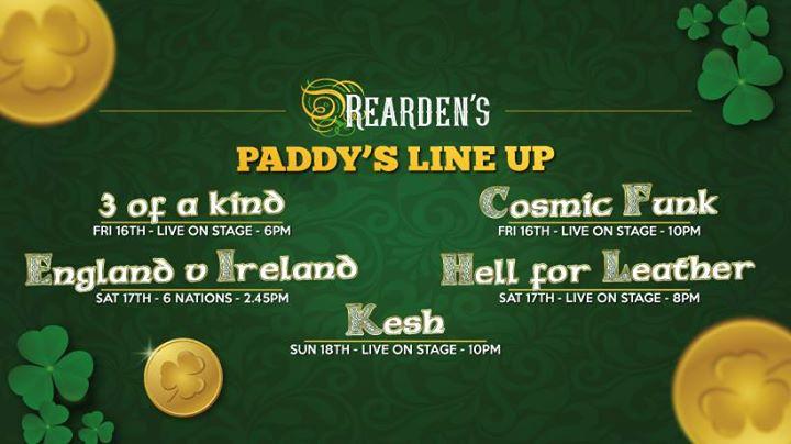 St. Patricks Weekend at Reardens