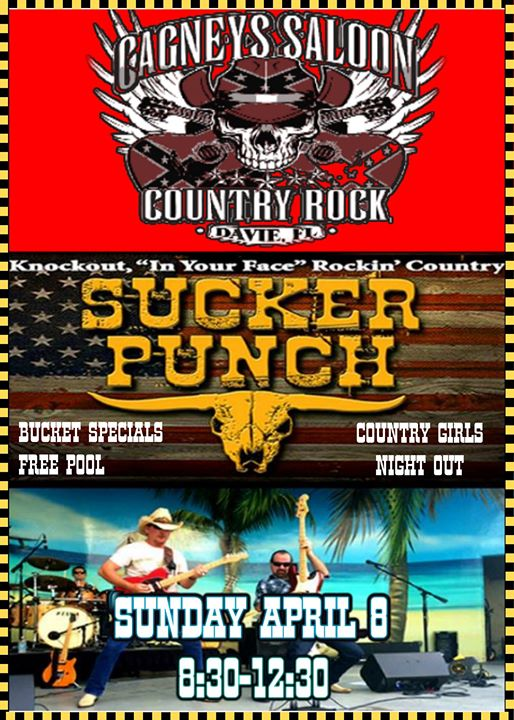 Country Girls Night Out with SuckerPunch Country at Cagneys  e0f981bce63