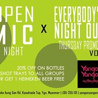 Open Mic Vol.8 x Everybodys Night Out