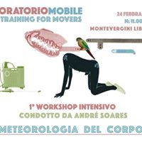 Meteorologia del corpo - Workshop intensivo con Andr Soares