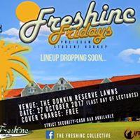 FreshInc Fridays - Pre-Exam Outdoor Chillas