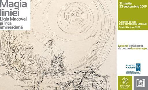 Vernisaj -Magia liniei (Ligia Macovei i lirica eminescian)