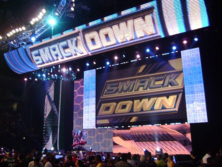 WWE Smackdown at the Staples Center