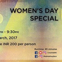 Madras Mic Drop - Womens Day Special