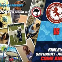 Chattanooga FC vs FC Carolina United &amp HES Dogs for Dogs Benefit