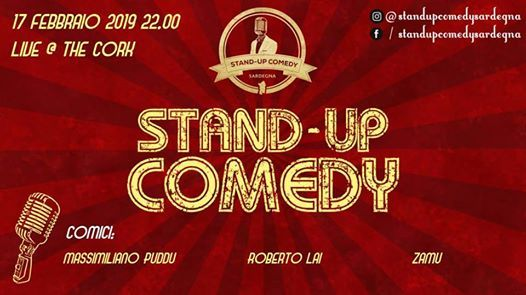 Stand-up Comedy Sardegna The Cork